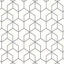 Noordwand Wallpaper Graphic Design Black -