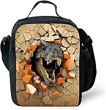 Nopersonality Boys Dinosaur Lunch Box Bag Packed