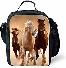 Nopersonality Cool Horse Lunchbox Kids Girls Boys