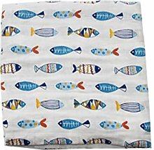 NorCWulT Pure Cotton Baby Blanket for Boys and