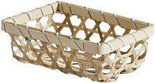 Nordal - Wicker Basket - Wood