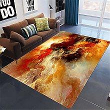 Nordic 3D Starry Sky Living Room Carpet In