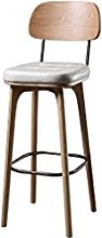 Nordic Bar Stool Front Desk Chairs Bar Chairs with