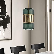 Nordic Bedroom Glass Chandelier Simple Modern LED
