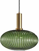 Nordic Glass Earth Pendant Lighting, E27 Creative