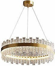 Nordic Glass Shade All Copper Chandelier,Led Light