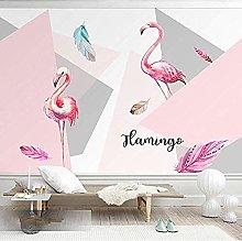 Nordic ins Flamingo Paper Living Room Bedroom