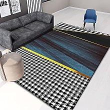 Nordic Light Luxury Rectangular Carpet Bedroom
