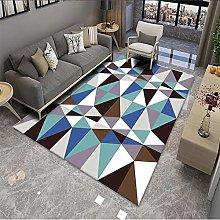 Nordic Light Luxury Style Rectangular Carpet,