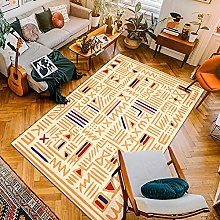 Nordic Mexican Style Carpets Polyester Floor Mats