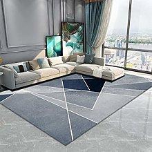 Nordic Modern Minimalist Geometric Printing Carpet