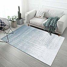 Nordic Modern Minimalist Geometric Striped Carpet