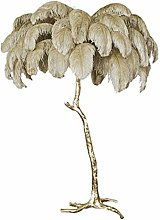Nordic Ostrich Feather Floor Lamp Stand Light