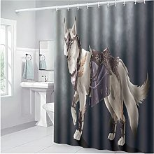 Nordic Printed Animal Polyester Simple And