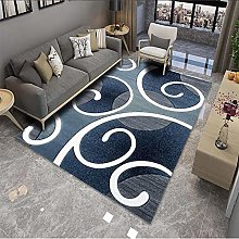 Nordic Printed Carpet, Household 3D Thick Flannel