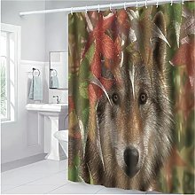 Nordic Printing Home Simple Polyester Shower