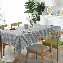 Nordic Simple Cotton and Linen Tablecloth
