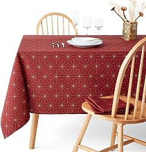 Nordic Star Patterned Tablecloth by La Redoute