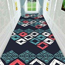 Nordic Style 3D Geometric Corridor Carpet Decor