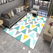 Nordic Style 3D Printed Carpet Living Room Coffee