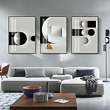 Nordic style Abstract Wall Art Canvas Paintings