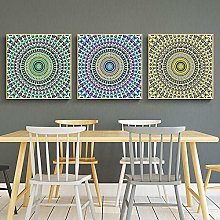 Nordic style Canvas Painting National Pattern