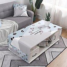 Nordic Style Cotton Linen Rectangular Tablecloth