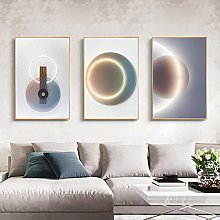 Nordic style Geometric Wall Art Canvas Painting