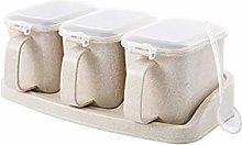 Nordic Style Multi Layers Seasoning Jar with