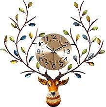 Nordic Style Wall Clock Wrought Iron Wall Clock