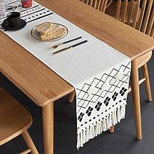 Nordic Table Runner Modern Minimalist Light Luxury