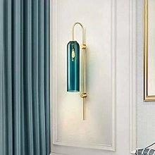 Nordic Wall Lamp Wall Light Creative Blue Glass