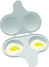 Nordic Ware Microwave 2 Cavity Egg Poacher