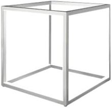 Nordium - Large Grey Cubed Table Lamp - Grey
