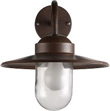 Nordlux Luxembourg Outdoor Wall Light, Weathered