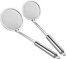 NORHOR 2 Pack Filter Spoon,Stainless Steel Fine