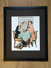Norman Rockwell Print - At the Breakfast Table