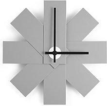 Normann Copenhagen Wall Clock, Aluminium, Gray,