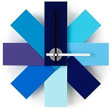 Normann Copenhagen - Watch Me Wall Clock - BLUE -