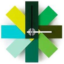 Normann Copenhagen - Watch Me Wall Clock Green -