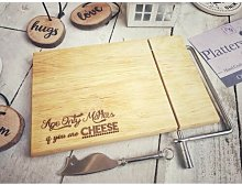 Normant Engraved Wire Cheese Slicer Happy Larry