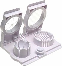 Norpro Egg Slicer/ Wedge/ Pierce/ Garnish, White