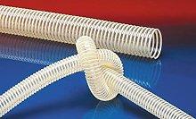Norres Leicher PU suction hose, flame retardant