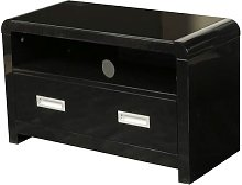 Norset Modern TV Stand Rectangular In Black Gloss