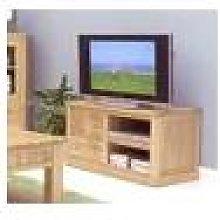 North Bay Oak Four Drawer TV Cabinet Fully