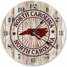 North Carolina State Stamp Silent Non Ticking