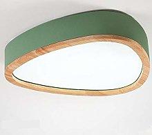 North Ouma Ka Long Style Wood Bedroom Ceiling Lamp