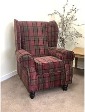 Northampt Wingback Chair August Grove Upholstery