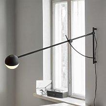 Northern Balancer wall light, black