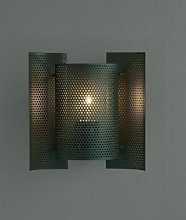 Northern Butterfly perforated wall lamp dark green